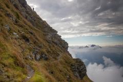 Schlechtwetter am Karnischen Höhenweg