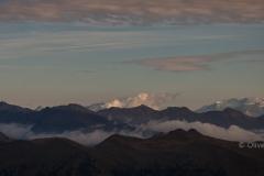 Blick auf den Großglockner vom Karnischen Höhenweg