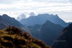 Blick in die julischen Alpen